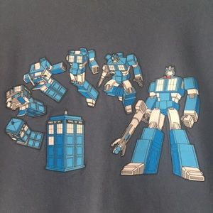 11th Doctor/Transformers mashup